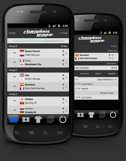 Champions L. Android Application image