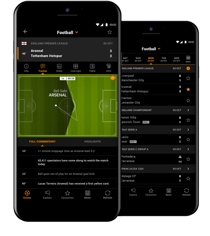 LiveScore app on Android | LiveScore com