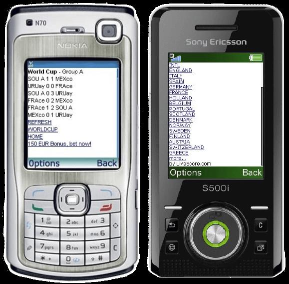 Livescore Mobile